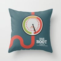 Das Boot - U-boot 96 - A… Throw Pillow