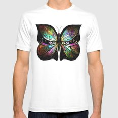 Morning Glory Mens Fitted Tee White SMALL