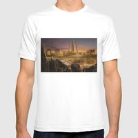 Red City Mens Fitted Tee White SMALL