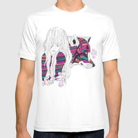 ▲SHE-WOLF▲ Mens Fitted Tee White SMALL