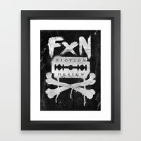 Fiction Design Framed Art Print