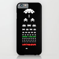 iPhone Cases featuring Eye Exam for Geeks by John Tibbott