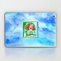 I Am A Goddess Laptop & iPad Skin