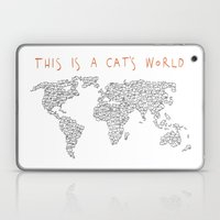 This is a Cat's World Laptop & iPad Skin