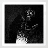 Drawlloween 2015: Demon Art Print
