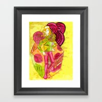 The King of Joy  Framed Art Print
