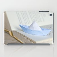 Little Paper Boat iPad Case