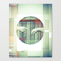 Two Points Canvas Print