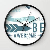DFTBA II Wall Clock