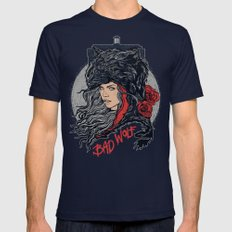 Bad Wolf Mens Fitted Tee Navy SMALL