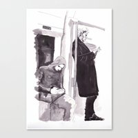 Men of Mystery Canvas Print
