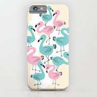 Flamingo Go Go iPhone 6 Slim Case