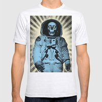 Punk Space Kook Mens Fitted Tee Ash Grey SMALL