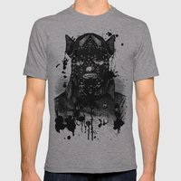 BDSM VII Mens Fitted Tee Athletic Grey SMALL