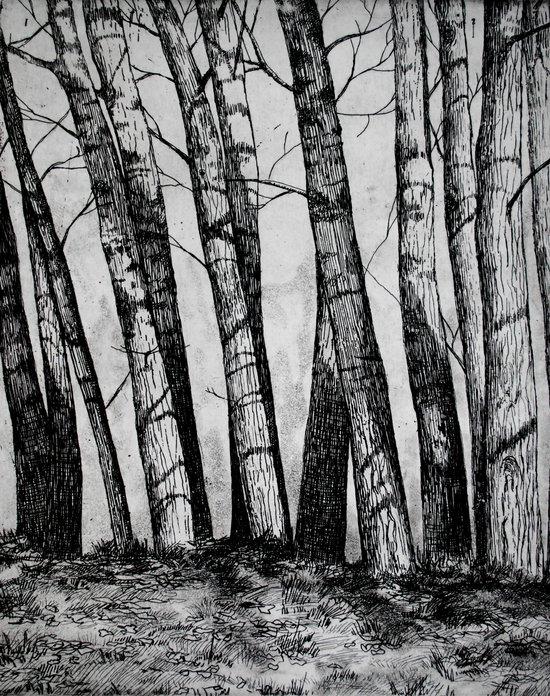 The Row  Art Print