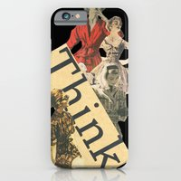 iPhone & iPod Case featuring Think by Emily H Morley
