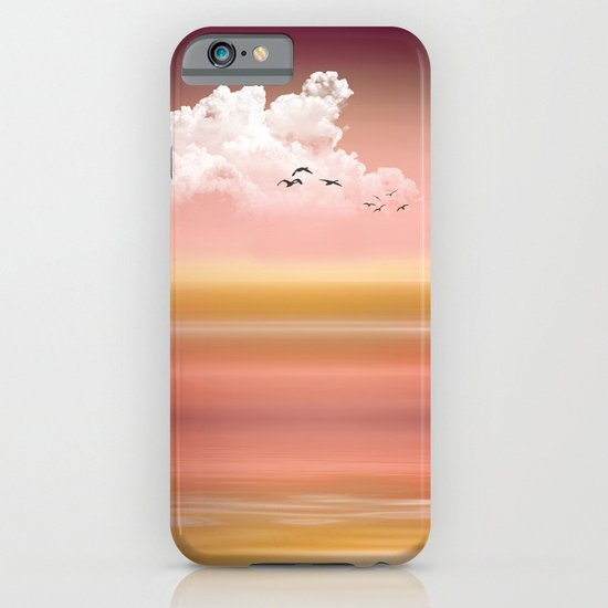 FROM DUSK TO DAWN - a golden sunset iPhone & iPod Case