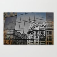 french architecture Canvas Print