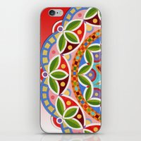Luisa's Mandala iPhone & iPod Skin