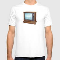 Headlong Mens Fitted Tee White SMALL