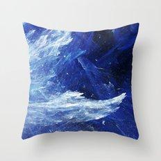 Sea Storm Throw Pillow
