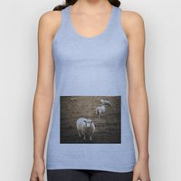 Sheep In A Field Unisex Tank Top
