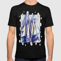 Sail Movements Mens Fitted Tee Tri-Black SMALL