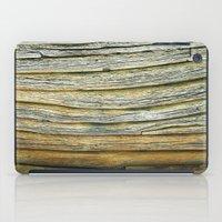 Wooden curves iPad Case