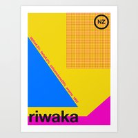 Riwaka Single Hop Art Print