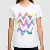 JungleParty Womens Fitted Tee Ash Grey SMALL