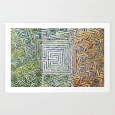 Síocháin (Peace) Art Print