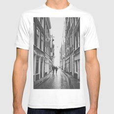Amsterlove SMALL Mens Fitted Tee White