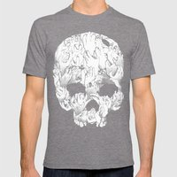 Shirt of the Dead Mens Fitted Tee Tri-Grey SMALL