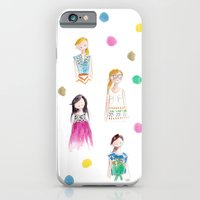 iPhone & iPod Case featuring Anthropologie Girls 2 by Sophie & Lili