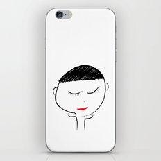 Mellow Girl iPhone & iPod Skin