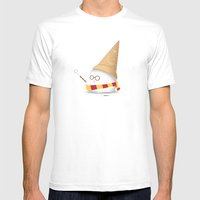 Invisibility Spell Mens Fitted Tee White SMALL