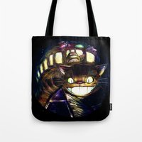 Cat Bus Is In Your Town!… Tote Bag