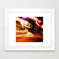 Night Cruise Framed Art Print