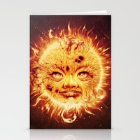 The Sun (Young Star) Stationery Cards