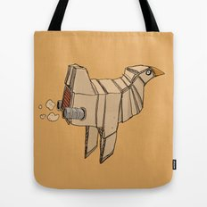 Space Chicken Tote Bag