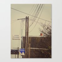I Spent My Days In The W… Canvas Print