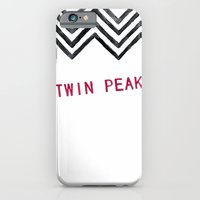iPhone & iPod Case featuring Twin Peaks by BITN
