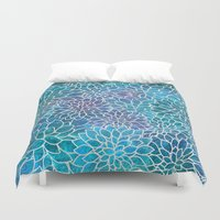 Floral Abstract 10 Duvet Cover