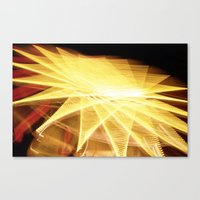 Filament Star Canvas Print
