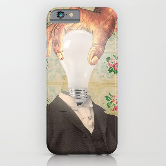 HAVING ONE'S HEAD SCREWED ON STRAIGHT iPhone & iPod Case