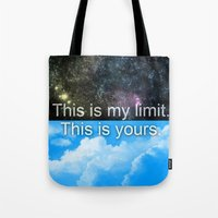 Know Your Limits Tote Bag