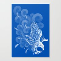 Windy Wings Canvas Print
