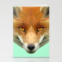 Poly the Fox Stationery Cards