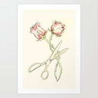 Scissor #13 Art Print