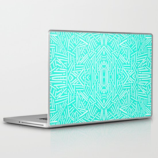 Radiate (Mint) Laptop & iPad Skin